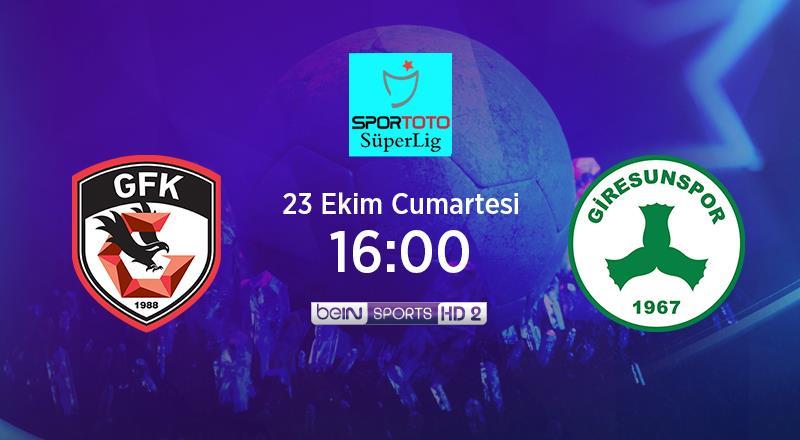 CANLI | Gaziantep FK - GZT Giresunspor
