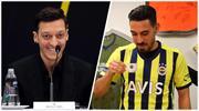 Mesut Özil'den İrfan Can'a 'hoş geldin'