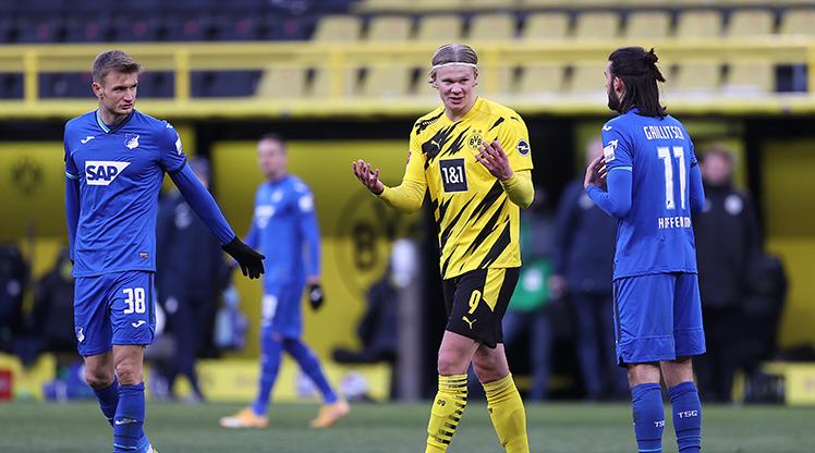 Dortmund puanı Haaland'la kurtardı