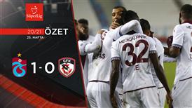 ÖZET | Trabzonspor 1-0 Gaziantep FK