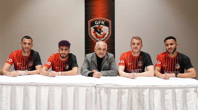 Gaziantep FK'den imza töreni