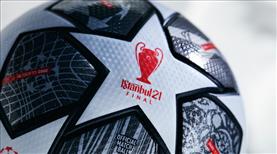 İstanbul'daki finale özel top tasarlandı