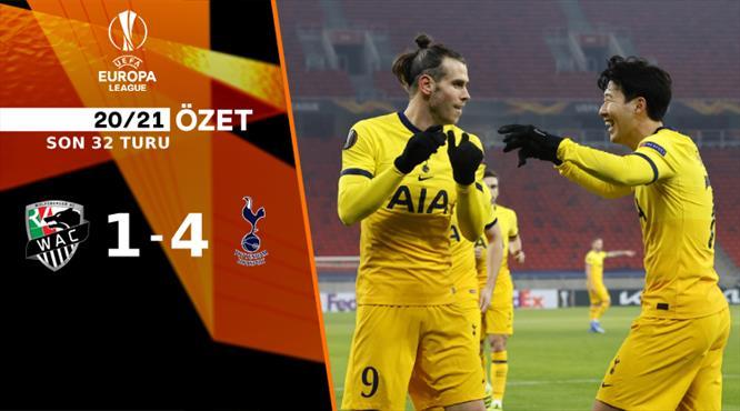ÖZET | Wolfsberger 1-4 Tottenham