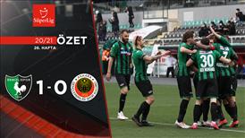 ÖZET | Y. Denizlispor 1-0 Gençlerbirliği