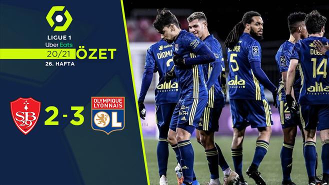 ÖZET | Brest 2-3 Lyon