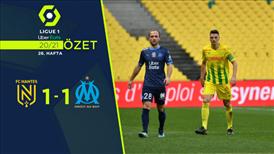 ÖZET | Nantes 1-1 Marsilya
