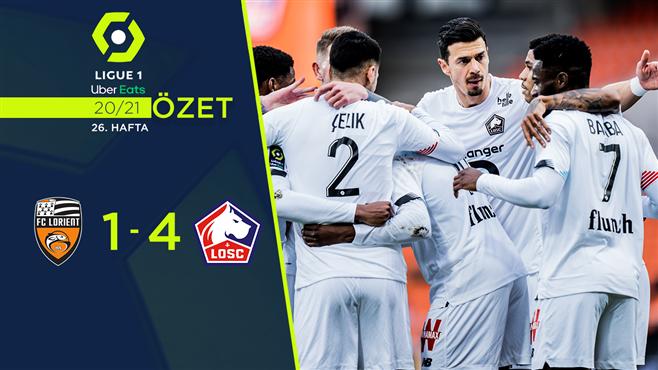 ÖZET | Lorient 1-4 Lille