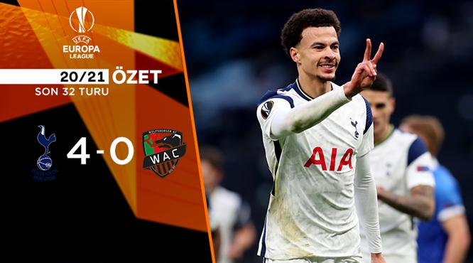ÖZET   Tottenham 4-0 Wolfsberger