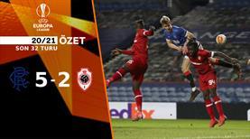 ÖZET   Rangers 5-2 Royal Antwerp