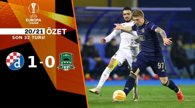 ÖZET | Dinamo Zagreb 1-0 Krasnodar