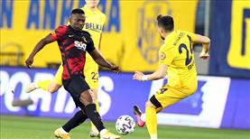 MKE Ankaragücü - Galatasaray maçının notları