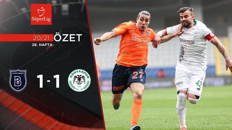 ÖZET | M. Başakşehir 1-1 İH Konyaspor