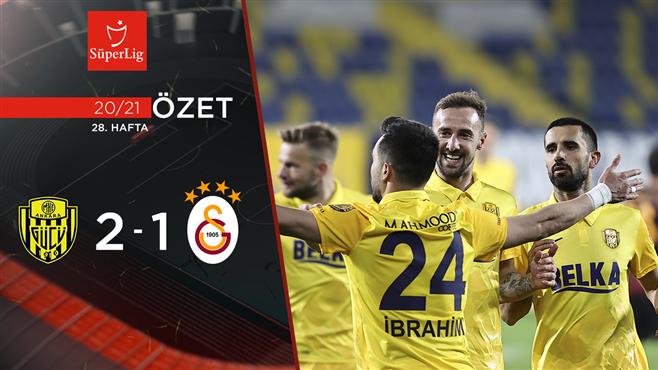 ÖZET   MKE Ankaragücü 2-1 Galatasaray