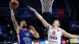 Andaolu Efes 100-70 CSKA Moskova