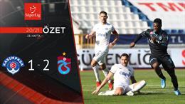 ÖZET | Kasımpaşa 1-2 Trabzonspor