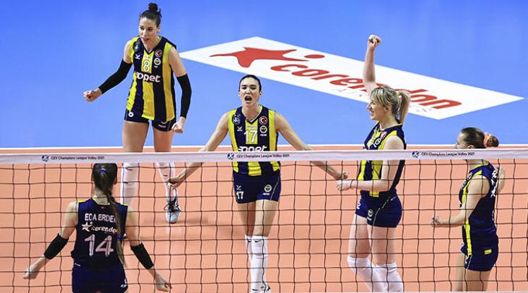 Fenerbahçe Kadın Voleybol Takımı'nda bir pozitif vaka