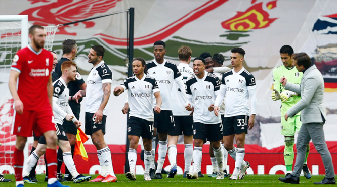 Liverpool'a bir darbe de Fulham'dan