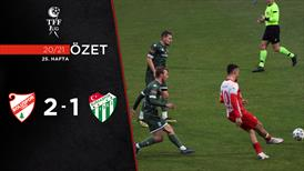 ÖZET | Boluspor 2-1 Bursaspor