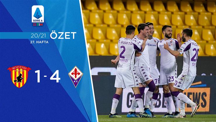 ÖZET   Benevento 1-4 Fiorentina