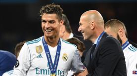 Zidane, Ronaldo transferine açık kapı bıraktı