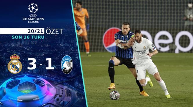 ÖZET | Real Madrid 3-1 Atalanta
