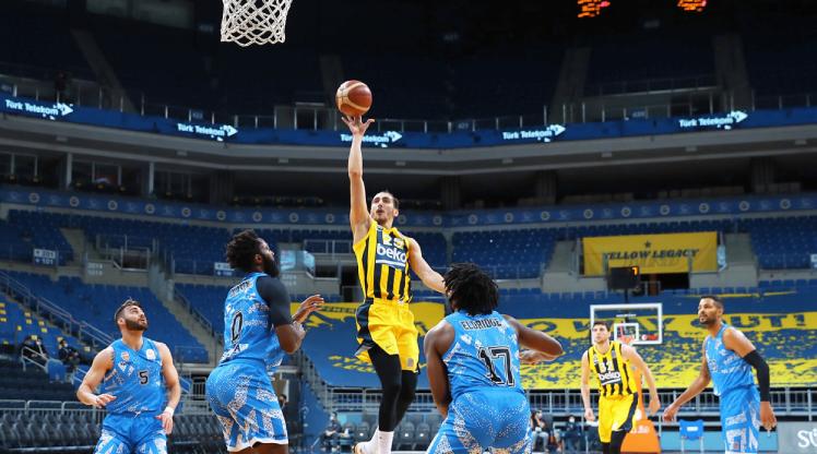 Fenerbahçe Beko'dan üst üste 4. galibiyet