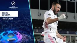 İZLE | Benzema'nın Devler Ligi'ne damga vuran golleri