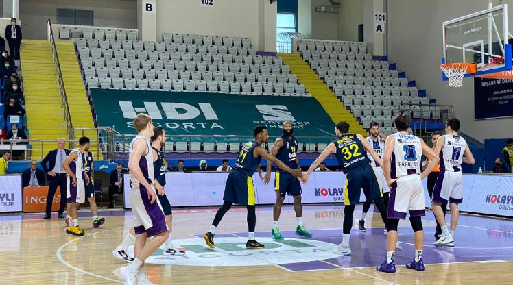 Fenerbahçe Beko deplasmanda güldü