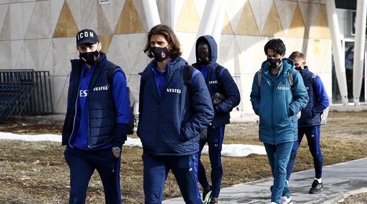 Trabzonspor, Sivas'a ulaştı