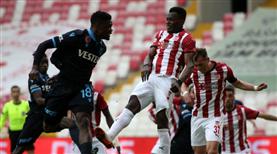 DG Sivasspor - Trabzonspor maçından öne çıkanlar