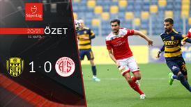 ÖZET   MKE Ankaragücü 1-0 FTA Antalyaspor