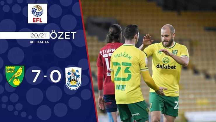 ÖZET | Norwich City 7-0 Huddersfield