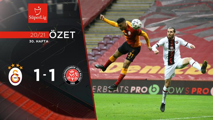 ÖZET | Galatasaray 1-1 F. Karagümrük