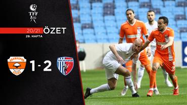 ÖZET | Adanaspor 1-2 Ankaraspor