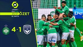 ÖZET | Saint-Etienne 4-1 Bordeaux