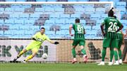 Akhisarspor'un ligde kalma umudu azalıyor
