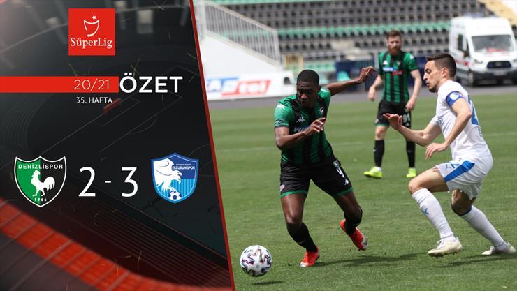 ÖZET | Y.Denizlispor 2-3 BB Erzurumspor