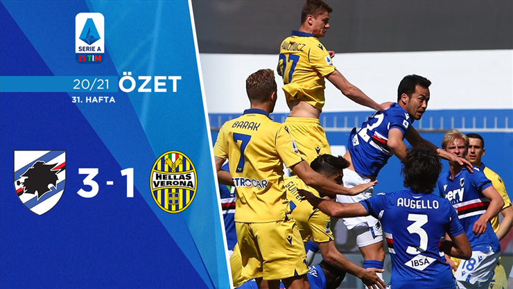 ÖZET   Sampdoria 3-1 H. Verona