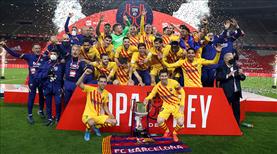 """İspanya'nın """"kralı"""" Barcelona"""