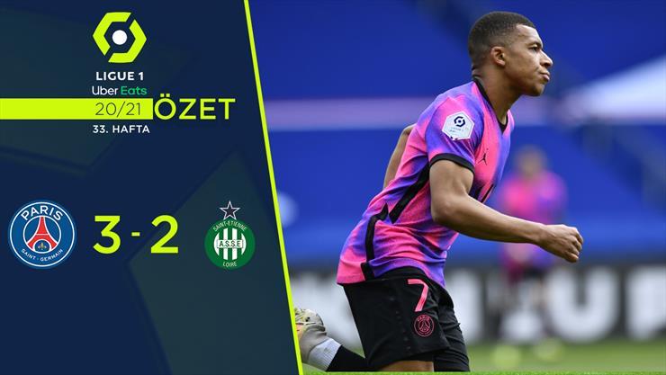 ÖZET | PSG 3-2 St. Etienne