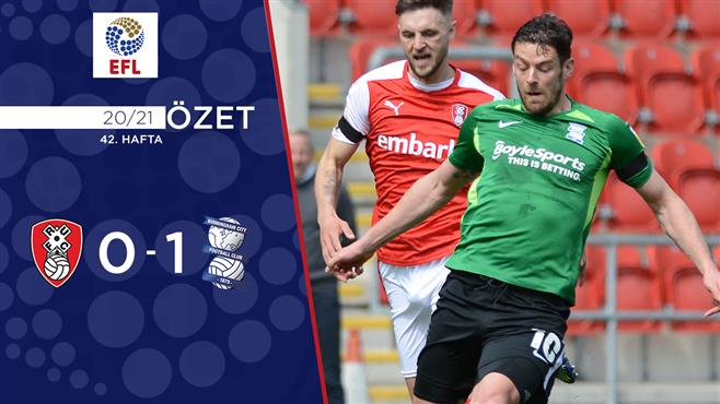 ÖZET   Rotherham United 0-1 Birmingham City