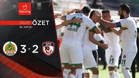 ÖZET | A. Alanyaspor 3-2 Gaziantep FK