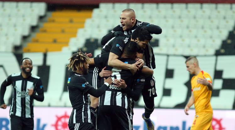 Beşiktaş, Ç. Rizespor'a 17 maçtır kaybetmiyor