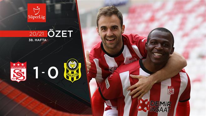 ÖZET   DG Sivasspor 1-0 H. Yeni Malatyaspor
