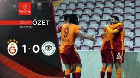 ÖZET   Galatasaray 1-0 İH Konyaspor