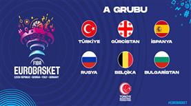EuroBasket 2022'deki rakiplerimiz belli oldu