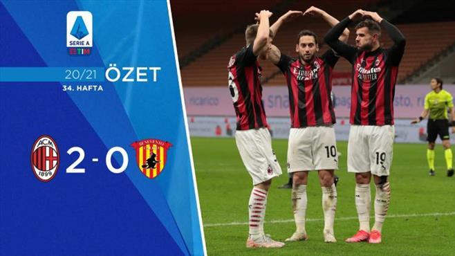 ÖZET   Milan 2-0 Benevento