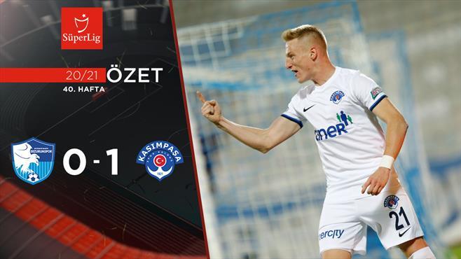 ÖZET | BB Erzurumspor 0-1 Kasımpaşa