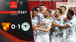 ÖZET   Göztepe 0-1 İ.H. Konyaspor