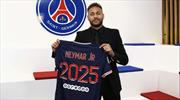 PSG, Neymar'ın sözleşmesini uzattı